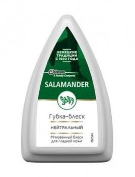 2cmt Губка для гладкої шкіри Salamander Shoe Shine (безбарвна)