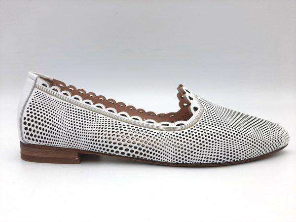 20210319 102330 Туфлі жіночі білі модель 443/4