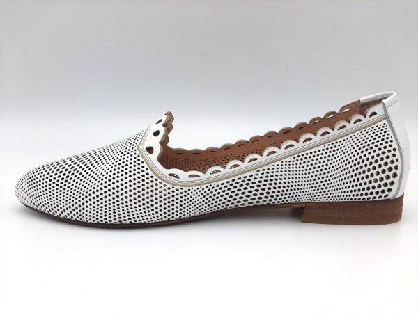20210319 102338 Туфлі жіночі білі модель 443/4
