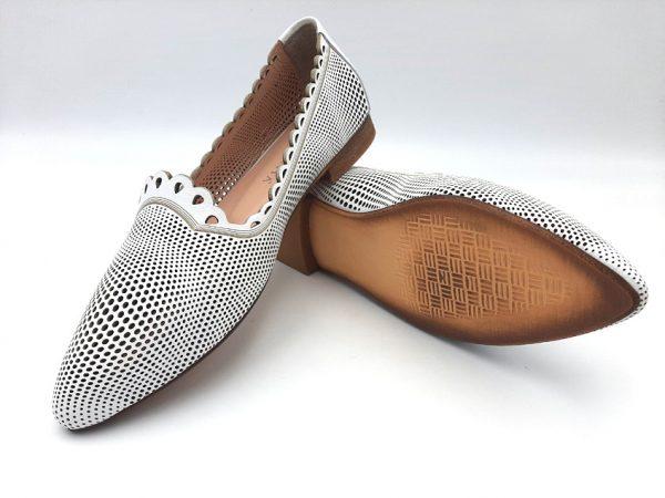 20210319 102400 Туфлі жіночі білі модель 443/4