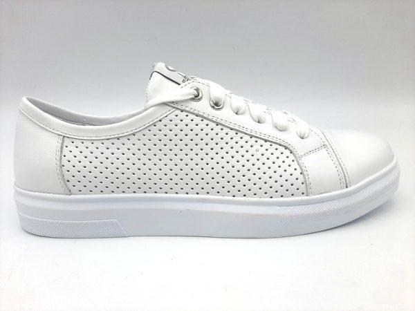 20210319 102720 Туфлі жіночі білі Selesta 342/155