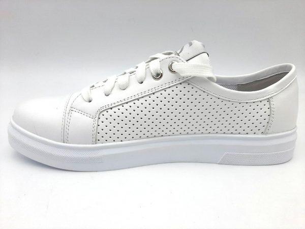 20210319 102732 Туфлі жіночі білі Selesta 342/155