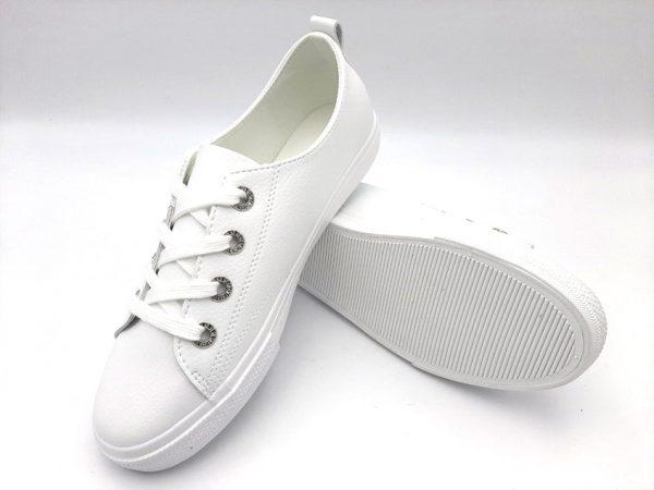20210319 104657 Туфлі жіночі білі модель 169/375