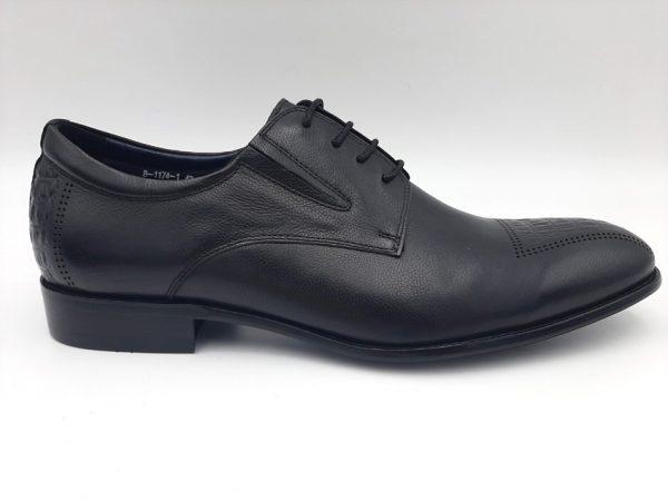 20210319 104858 Туфлі чоловічі класичні чорні модель 169/376